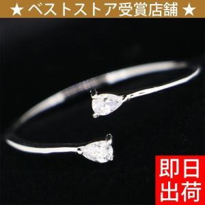 サイズフリー/0.1カラット ティアードロップ リング/指輪/女性 レディース/プラチナ仕上げ/シルバー925/ピンキーリング アクセサリー|gulamu-jewelry