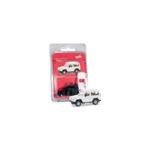 herpa Cars&Trucks 1/87 ミニキット MB G-Modellホワイト gulliver-inc