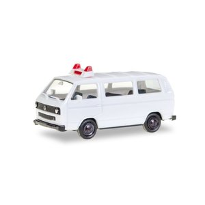 herpa Cars&Trucks 1/87 ミニキット フォルクスワーゲン T3 バス無装飾 ホワイト gulliver-inc