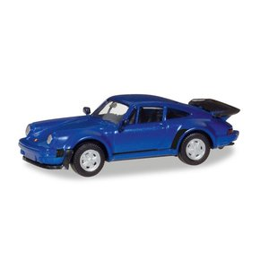 herpa Cars&Trucks 1/87 ポルシェ 911 Turbo ブルーメタリック gulliver-inc