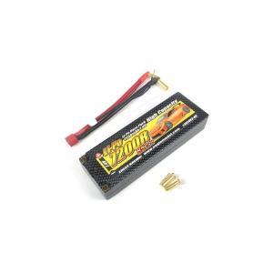 【送料全国一律270円】イーグル(EAGLE)/3858V3U-HC/Li-PoバッテリーHC 7200R7.4V 85Cα,JstXH(5mmヨーロピアン仕様)|gun-yumekukan