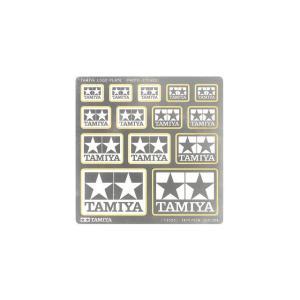【送料全国一律270円】タミヤ(TAMIYA)/73023/タミヤロゴプレート(エッチング製)|gun-yumekukan
