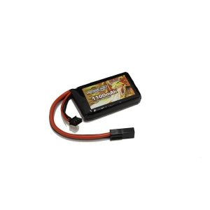 OPTION No.1/GB-0028M/BIG POWER LIPO 1100mAh 7.4V PEQインタイプ(縦34*横59*厚み11.5mm)|gun-yumekukan
