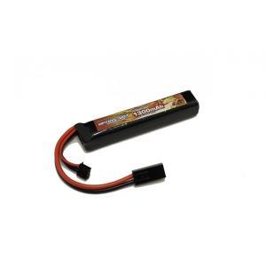 OPTION No.1(オプションNo.1)/GB-0041M/マッチドリポバッテリー HIGH POWER LiPo7.4V 1300mAh|gun-yumekukan