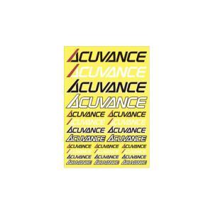 【送料全国一律270円】アキュバンス(ACUVANCE)/OP-15104/ストレッチロゴステッカー gun-yumekukan