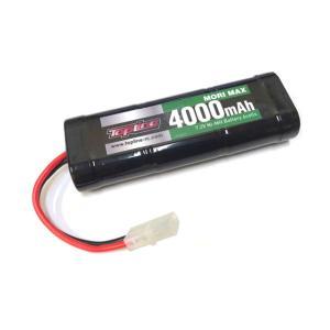 TOPLINE(トップライン)/TP-168/MORI MAX 7.2V 4000mAh ニッケル水素バッテリー|gun-yumekukan