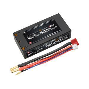 ハイテック(HiTEC)/XPR5000S/XPOWER R-SPEC Li-Po 7.4V 5000mAh 100C/200C リポバッテリー|gun-yumekukan