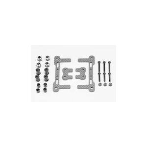 【送料全国一律270円】YOKOMO(ヨコモ)/Y2-118CG/YD-2 用 グラファイト製 バッテリーホルダー(ショートLi-po専用)|gun-yumekukan