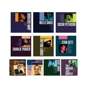 洋楽CD ジャズの巨匠達がおりなす名演奏!ジョン・コルトレーン〜モダン・ジャズ・カルテット 10枚組|gunsa1