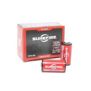 在庫あり [新品] SureFire純正 リチウムバッテリー 123A 12個入BOX シュアファイア [使用推奨期限2027-05 正規品] 084871820134 [送料別]|gunshop|02