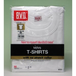 BVD 丸首半袖Tシャツ3枚セット GOLD G013GF923K B.V.D.