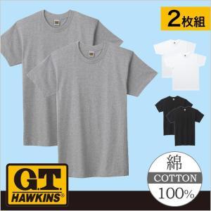 グンゼ クルーネックTシャツ2枚セット GTホーキンス HK10132|gunze-it