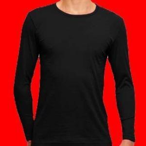 東レ クルーネック ロングTシャツ 3枚セット 吸湿発熱 ソフトサーモ  HTBC3|gunze-it