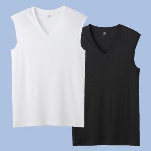 グンゼ 吸汗速乾Vネックスリーブレスシャツ3枚セット YG DRY  YV0118P3|gunze-it