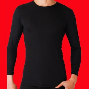 グンゼ 吸湿発熱 クルーネックロングTシャツ YW1508|gunze-it