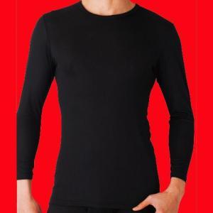 グンゼ クルーネックロングTシャツ2枚セット 吸湿発熱 YW1508K|gunze-it