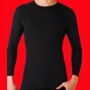 グンゼ クルーネックロングTシャツ2枚セット 吸湿発熱 YW1508P3-2|gunze-it