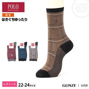 セール 特価 GUNZE(グンゼ)/POLO BCS/婦人ソックス 履きぐちゆったり 消臭(レディース)/秋冬/PBJ706/22-24|gunze