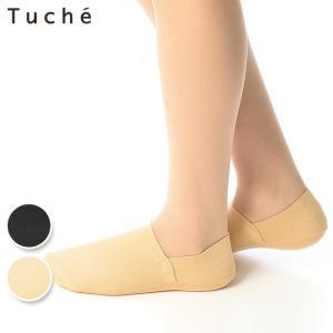 GUNZE(グンゼ)/Tuche(トゥシェ)/暖かフットカバー(超深履き)(レディース)/TQL524/22-24|gunze