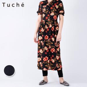 GUNZE(グンゼ)/Tuche(トゥシェ)/カジュアルレギンス(フルレングス)(レディース)/TZK622/M〜L gunze