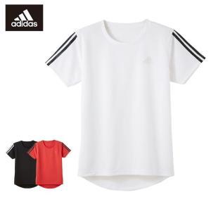 160サイズ GUNZE(グンゼ)/adidas(アディダス) 吸汗速乾 メッシュ/クルーネックメッシュTシャツ(男の子)/春夏/APC0380/160cm|gunze