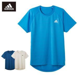 ポイント10倍 GUNZE(グンゼ)/adidas(アディダス)/クルーネックTシャツ(メンズ)/APC113A/M〜LL|gunze