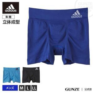 GUNZE(グンゼ)/adidas(アディダス)/ボクサーパンツ(前とじ)(メンズ)/APS080A/M〜LL|gunze