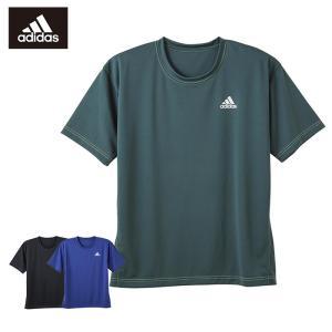 セール 特価 GUNZE(グンゼ)/adidas(アディダス)/Tシャツ(メンズ)/APU113A/M〜LL|gunze