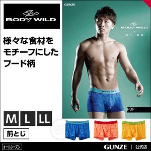GUNZE(グンゼ)/BODY WILD(ボディワイルド)/ボクサーパンツ(前とじ)(メンズ)/井上...