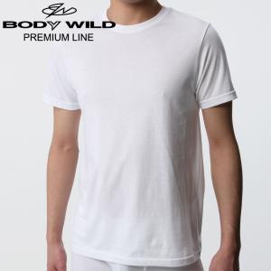 GUNZE(グンゼ)/BODY WILD(ボディワイルド)/クルーネックTシャツ/BWN113P/3L|gunze