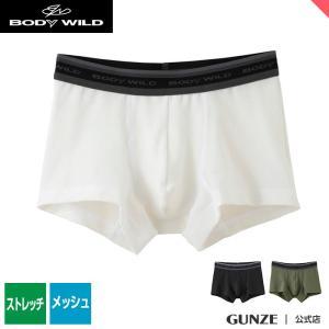 セール 特価 GUNZE(グンゼ)/BODY WILD(ボディワイルド)/ボクサーパンツ(前とじ)(メンズ)紳士/BWP926J/M〜L|gunze