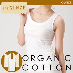 綿100 GUNZE(グンゼ)/the GUNZE(ザグンゼ)/【オーガニック】タンクトップ(婦人) 31CK2254|gunze