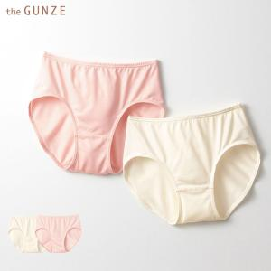 ★GUNZE(グンゼ)/the GUNZE(ザグンゼ)/直営店限定 SILK(シルク)レギュラーショーツ(レディース)/CK2570/M〜L|gunze