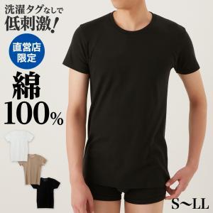 綿100 GUNZE(グンゼ)/the GUNZE(ザグンゼ)/【STANDARD】クルーネックTシャツ(丸首)(紳士)/年間シャツ/CK9013N|gunze