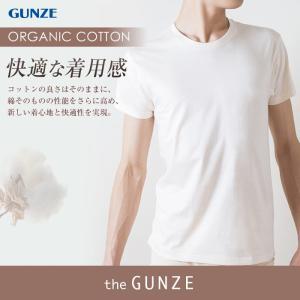 綿100 GUNZE(グンゼ)/the GUNZE(ザグンゼ)/【オーガニック】クルーネックTシャツ(紳士) 31CK9413|gunze