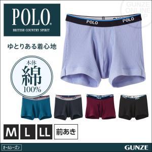 GUNZE(グンゼ)/POLO BCS/ボクサーブリーフ(前あき)(紳士)/年間ボクサー/PBM580A|gunze