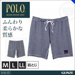 GUNZE(グンゼ)/POLO BCS/ハ−フパンツ(前とじ)(紳士)/アウター/PBP185A gunze