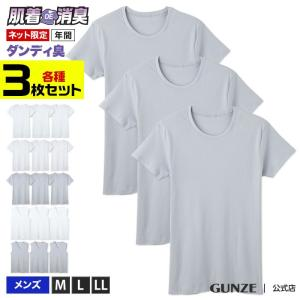 GUNZE(グンゼ)/肌着DE消臭インナー(メンズ)/SETQ050/M〜LL gunze