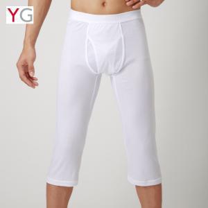 セール グンゼ YG ステテコ 脚汗対策 汗ベタ軽減 汗ジミ 対策 インナー ズボン下 夏用 肌着 メンズ GUNZE ニーレングス(前あき)(紳士) 男性下着/YV0107N|gunze