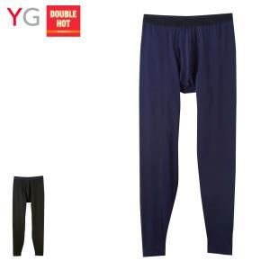 GUNZE(グンゼ)/YG(ワイジー)/ダブルホット DOUBLE HOT 温感 保温 タイツ(前あき)(メンズ)/YV0701/M〜LLの商品画像|ナビ