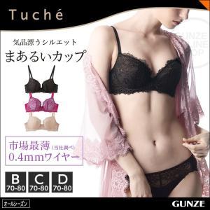 セール 特価 GUNZE(グンゼ)/Tuche(トゥシェ)/3/4カップワイヤーブラジャー(婦人)/年間ブラ/JB3018H|gunze