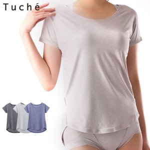 セール 特価 GUNZE(グンゼ)/Tuche(トゥシェ)/ACTIBALANCE(アクティバランス)/年間シャツ/3分袖Tシャツ(婦人)|gunze