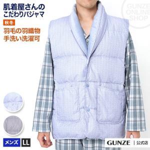 セール 特価 GUNZE(グンゼ)/その他(ソノタ)/羽織物 ダウン入りベスト(メンズ)/SK4609/LL|gunze