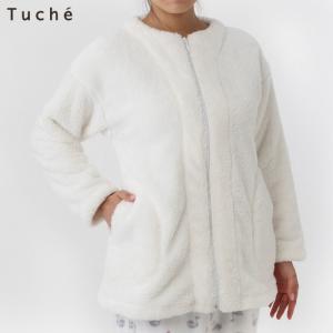 セール 特価 GUNZE(グンゼ)/Tuche(トゥシェ)/ファーフリースガウン(レディース)婦人/秋冬/TC4698/M〜LL gunze