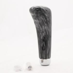 ウッドシフトノブ ガングリップタイプ 黒木目調 150mm 12X1.25(8×1.25と10×1.25のアダプター付) トラック用品560215|guranpuri-kyoto