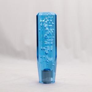 クリスタル泡シフトノブ ブルー 150mm 12X1.25/10×1.25 トラック用品|guranpuri-kyoto