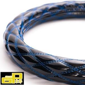 トラック用品 JBハンドルカバー 黒/青糸Wステッチ|guranpuri-kyoto