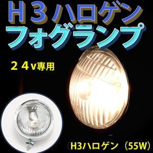 24V H3ハロゲンフォグランプ(白) DS-0077|guranpuri-kyoto