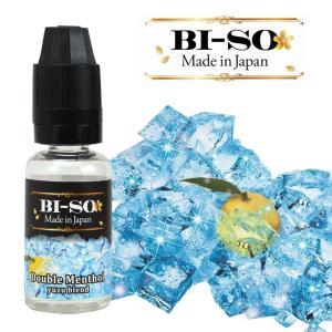 電子タバコ Vape ベイプリキッド ダブルメンソール柚子ブレンド  15ml BISO 7種類から選択可能 国産リキッド gurobaru