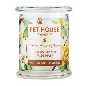 ファンタジーワールド PET HOUSE キャンドル バニラサンダルウッド (OFA-L20) L (アロマキャンドル) 240g【ネコポス不可】|guruguru-cosme